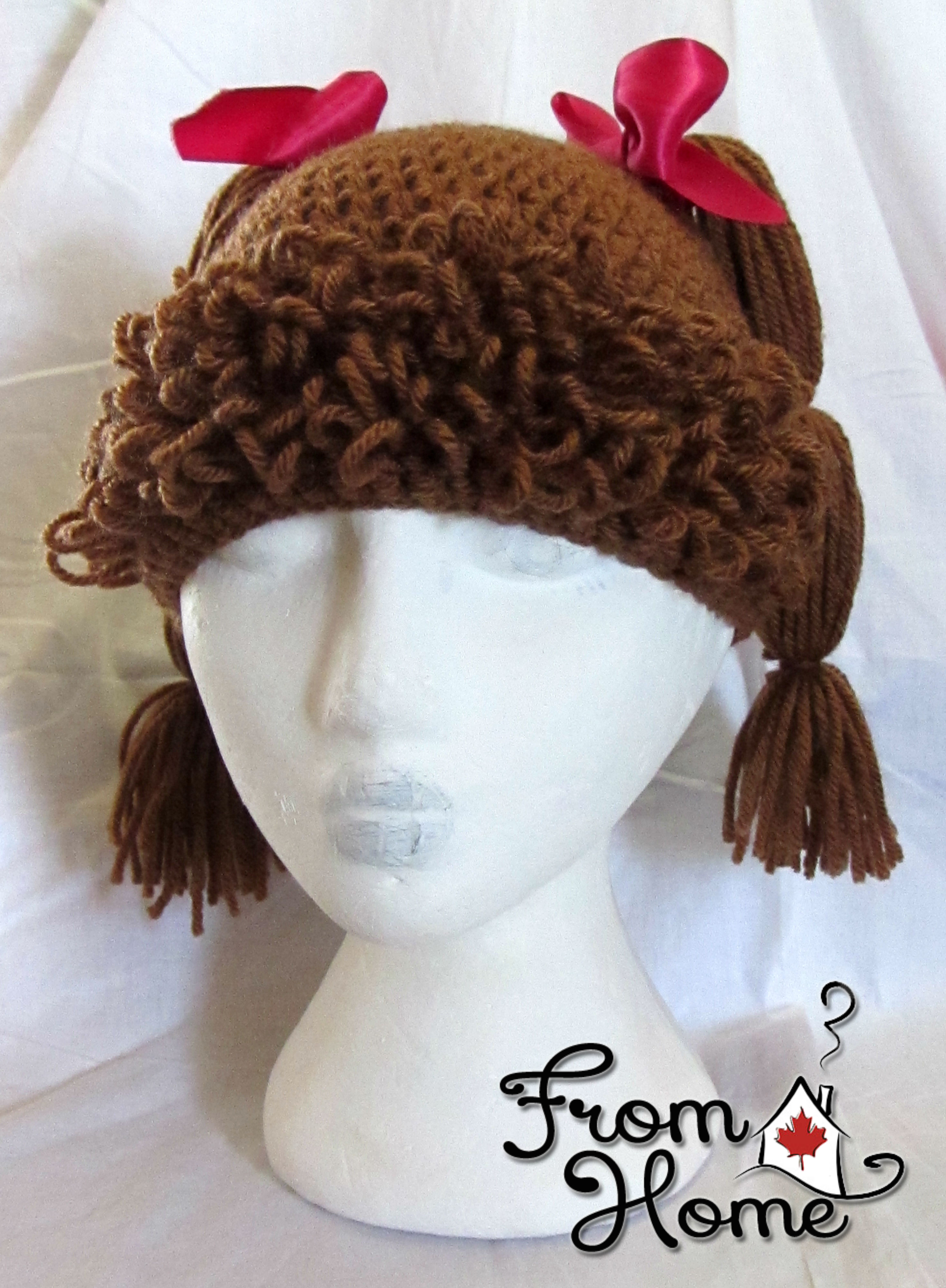 Cabbage Patch Hat Tutorial | From Home Crochet