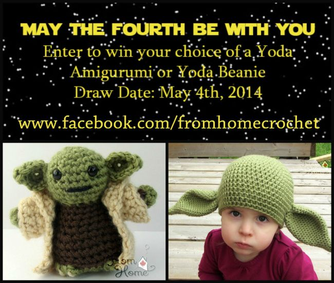 May The Fourth Be With You| From Home Crochet