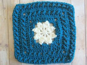 Walled Garden Square | From Home Crochet