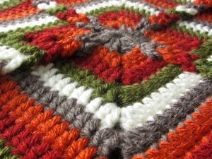 Ladder Loop Square | From Home Crochet