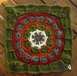 Magic Spike Mandala Square