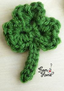 Three Leaf Clover | From Home Crochet