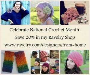 NatCroMo Blog Tour | From Home Crochet