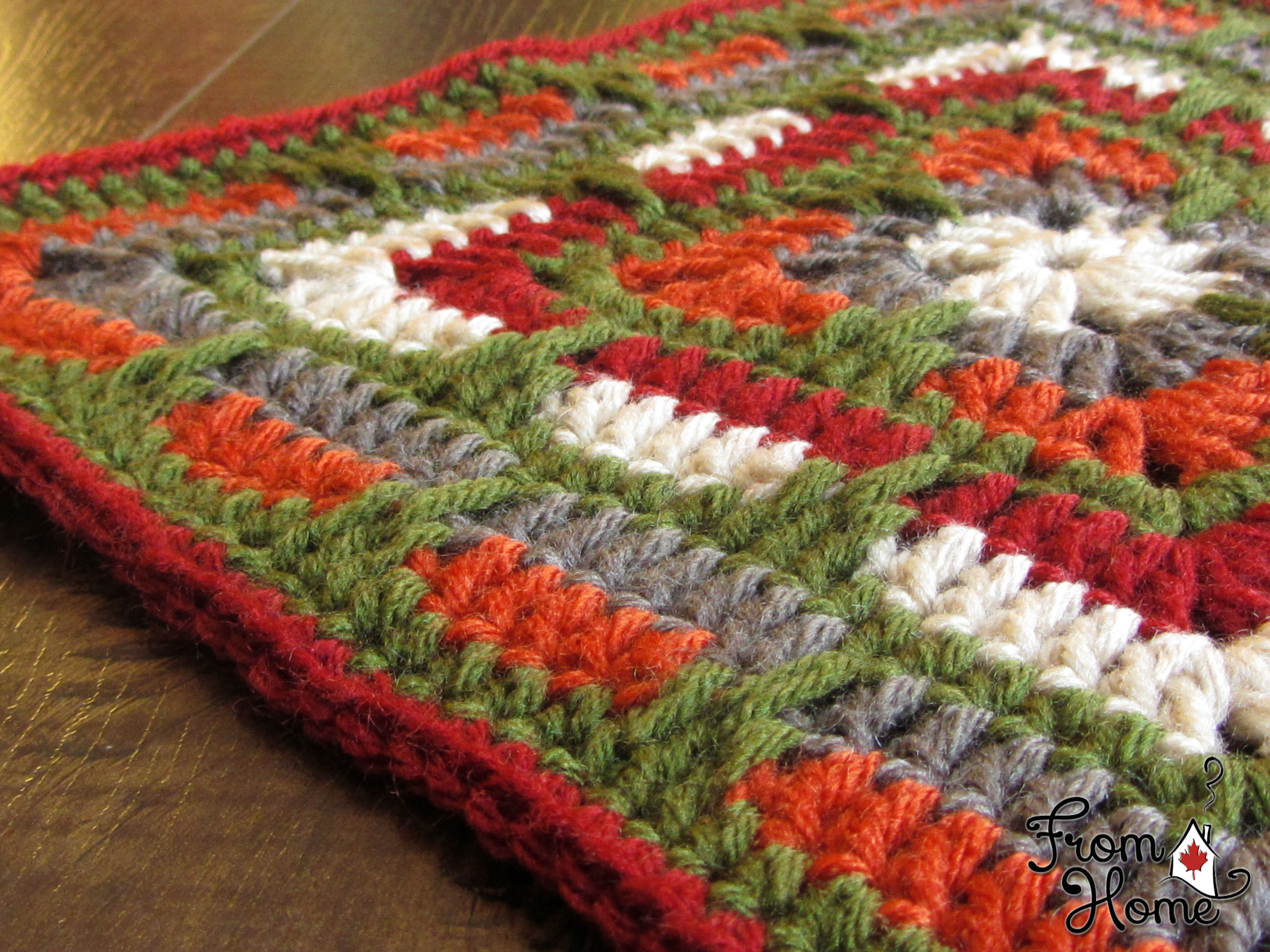 Larksfoot Inspired 12 Square Free Pattern The Kcaco Uk Cal