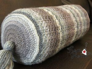 Classic Lace Bolster | From Home Crochet