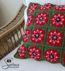 River Rose Pillow