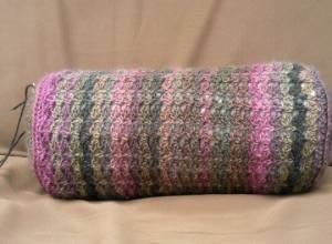 Classic Lace Bolster Test Pillow| From Home Crochet